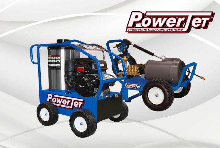 Découvrez la puissance des laveuses à pression PowerJet