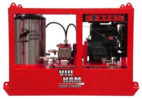VIDHAM Industriel diesel à l'eau chaude
