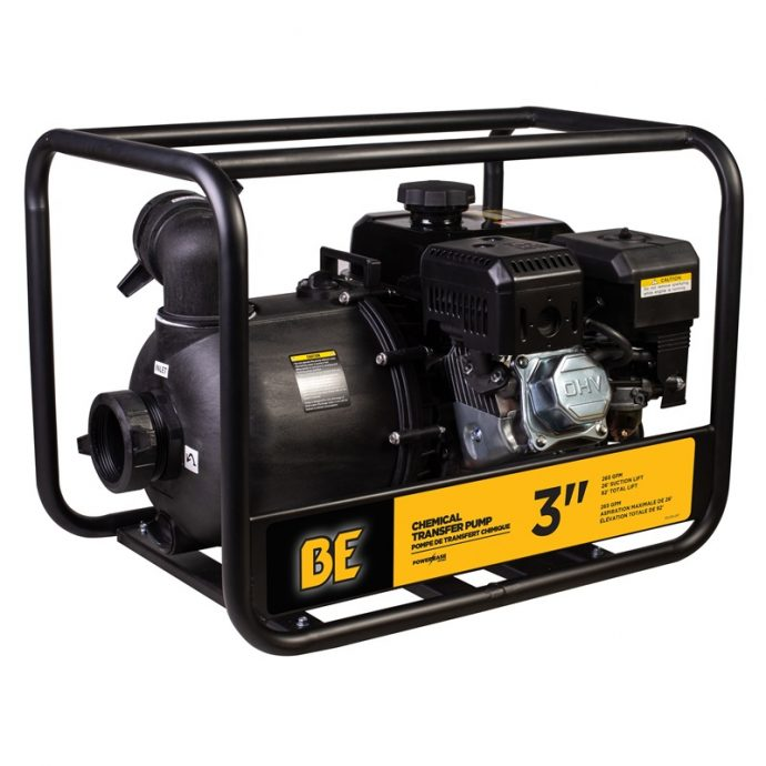 BE power 3″ Chemical Transfer Pump