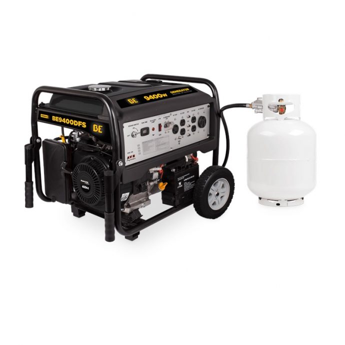 BE power 9400 Watt Dual Fuel Generator