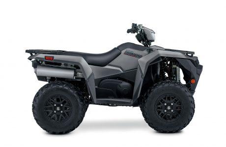 Suzuki KINGQUAD 500XPZ LT-A500XPZS: Gris Mat Métallique, Roues Mag Noir 2022