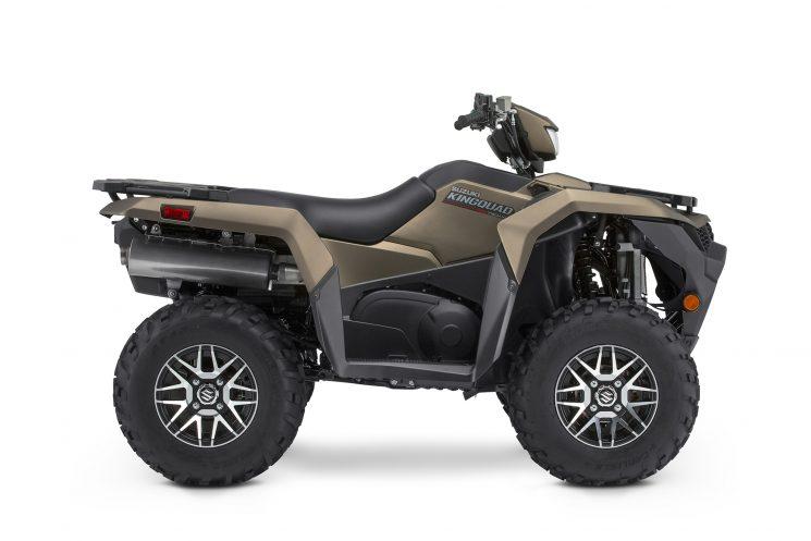 Suzuki KINGQUAD 500XPZ LT-A500XPZS: Bronze Mat Métallique, Roues Mag 2022